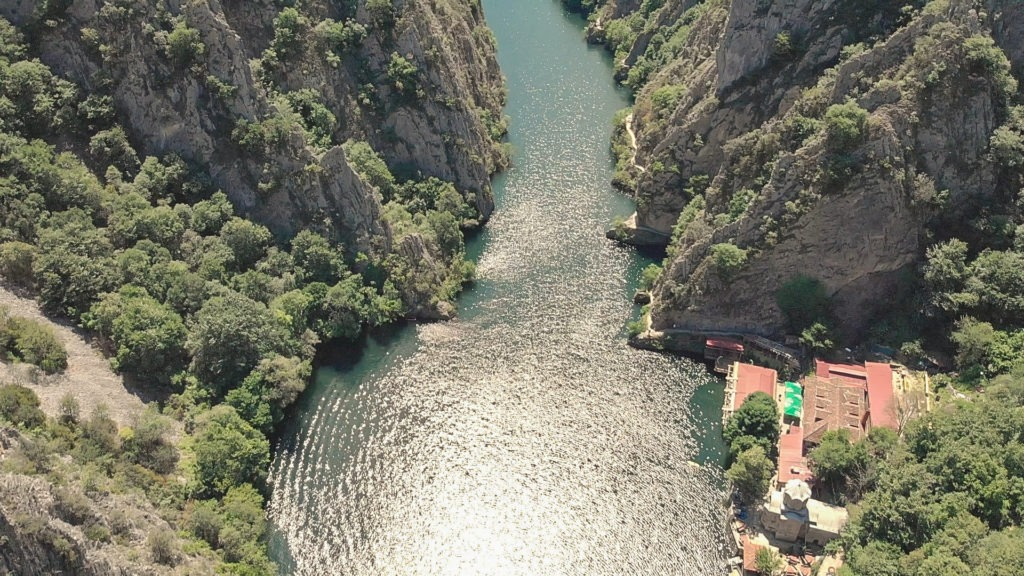 Canyon Matka-Landscape