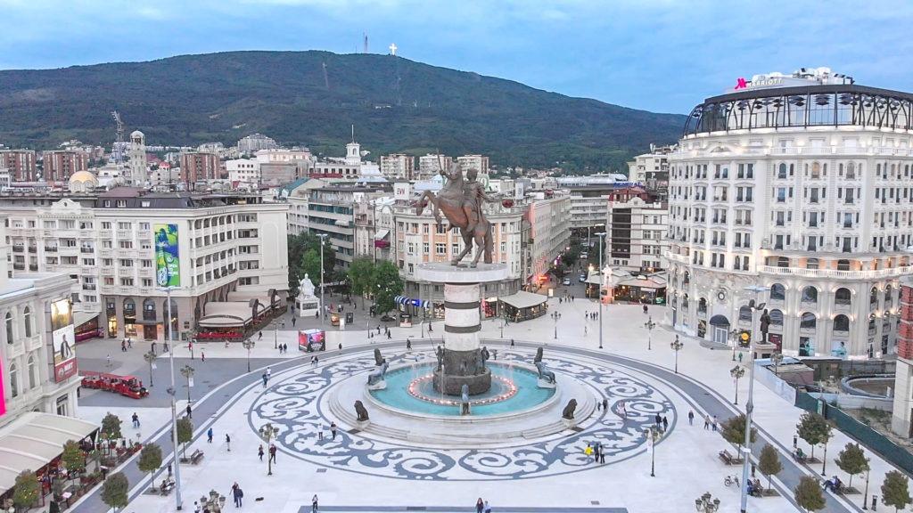Macedonia Square-Skopje