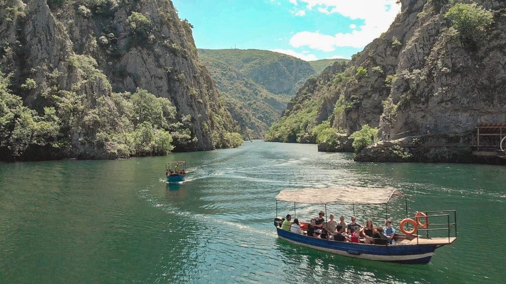 The stunning beautiful canyon Matka.