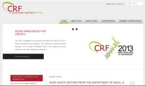 Third CRF Website Screenshot
