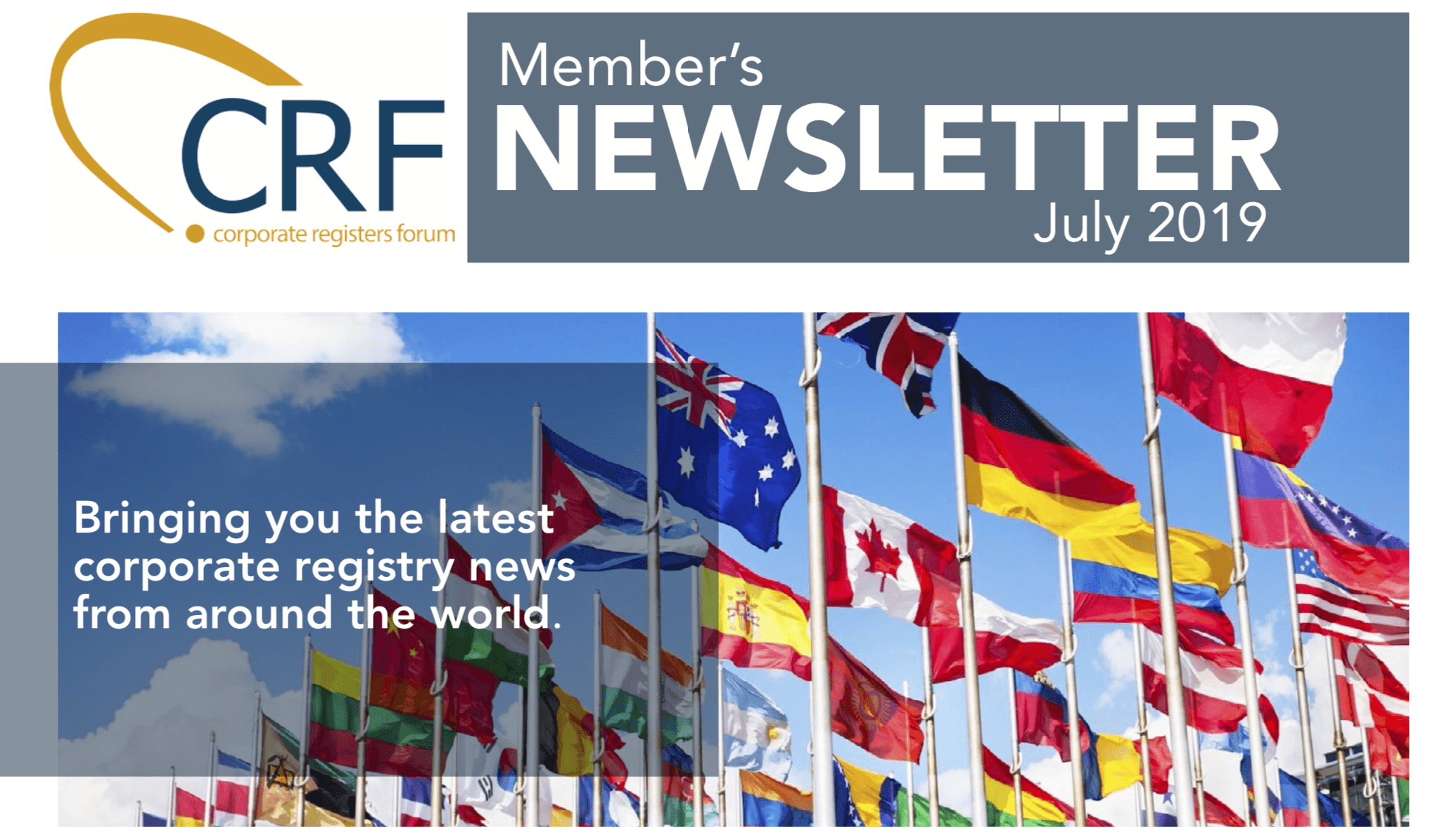 CRF July Newsletter Thumbnail